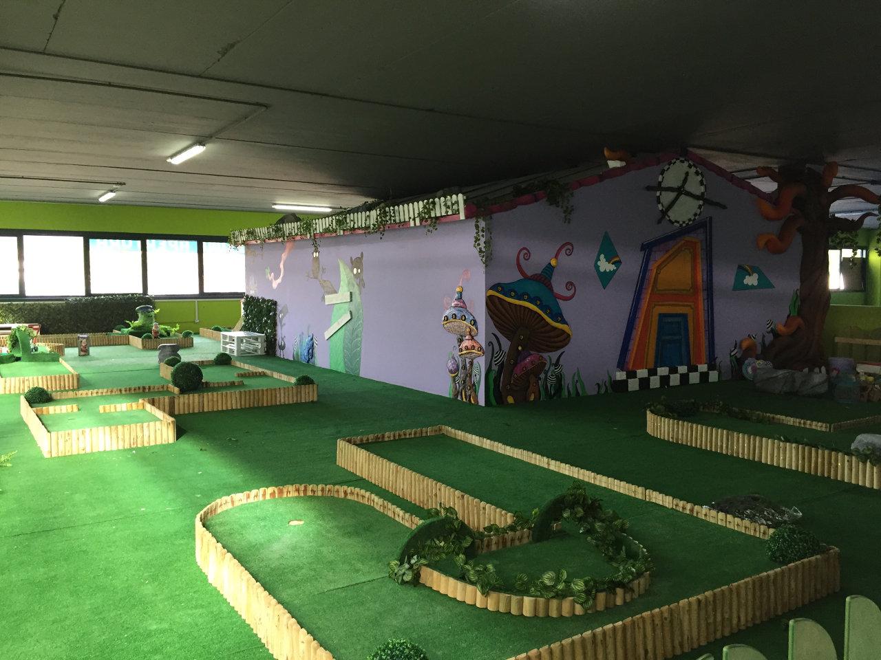 mini golf pista